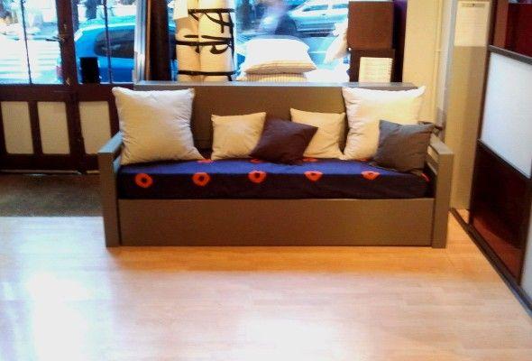 Espace et mieux etre produits de la categorie lits escamotables - Lit gigogne confortable ...