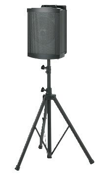 pied pliant telescopique pour enceinte voyager k 306. Black Bedroom Furniture Sets. Home Design Ideas