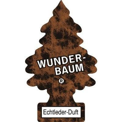 WUNDER-BAUM ARBRE DE SENTEUR WUNDER-BAUM® CUIR VÉRITABLE