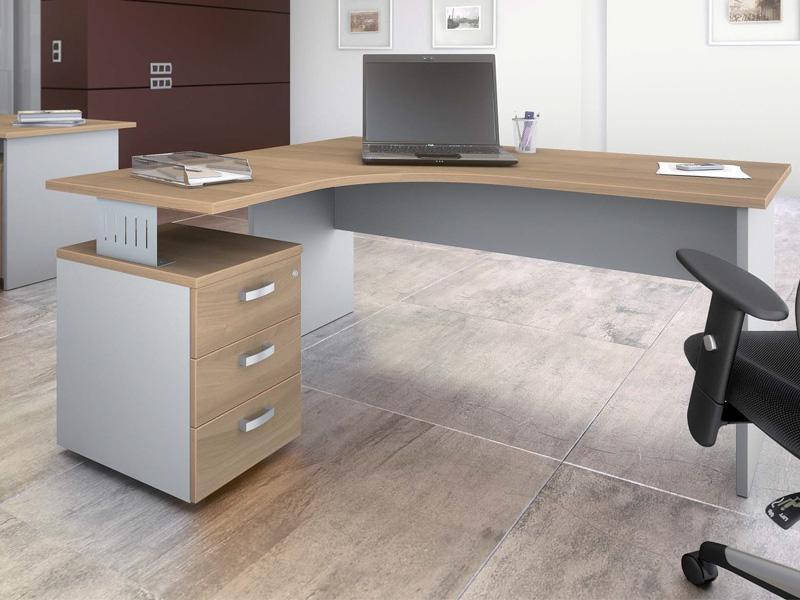 Deskissimo modèles de bureaux avec caissons de la marque