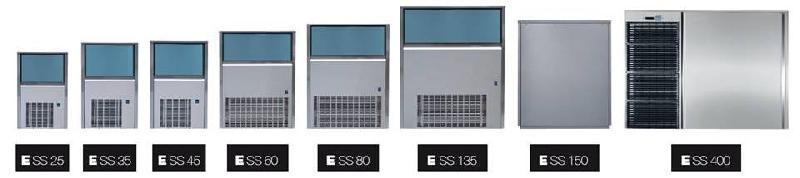 Euroice ss 80 - machine à glaçons - chahed refrigeration