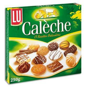 Lu1 b/250g biscuits caleche 1454