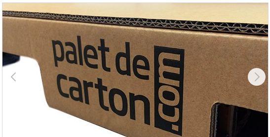 Palette en carton carton ondulé d'haute résistance
