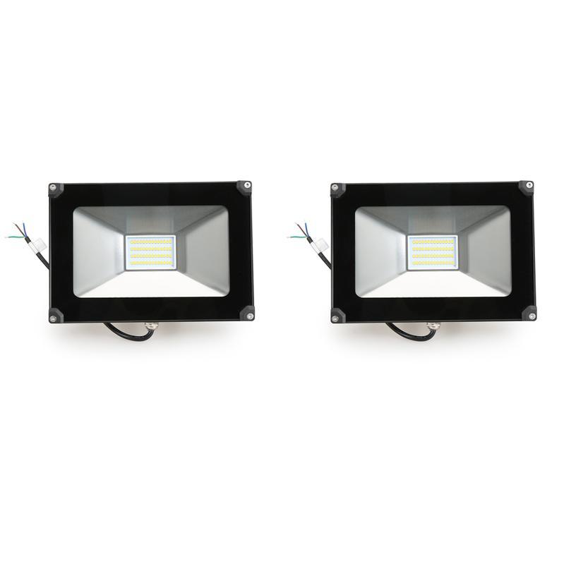 2 30w projecteur led l ger spot led etanche ip65 lampe for Lampe etanche exterieur