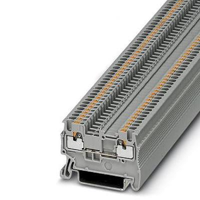 BLOC DE JONCTION SIMPLE PHOENIX CONTACT PT 1,5/S 3208100 GRIS 50 PC(S)