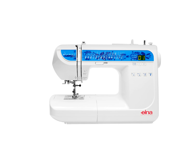 Machines a coudre elna experience 520 for Machine a coudre 7 ans