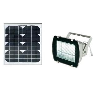 projecteur solaire puissant 54 leds 330 lumens panneau 10w comparer les prix de projecteur. Black Bedroom Furniture Sets. Home Design Ideas