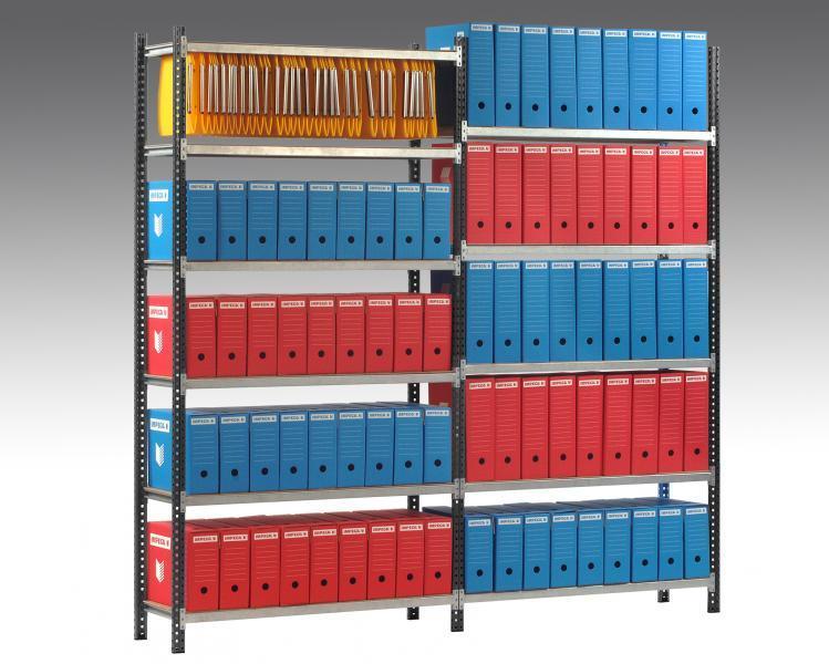 Rayonnage archive 2000 x 1000 réf rayarch s201035-5n