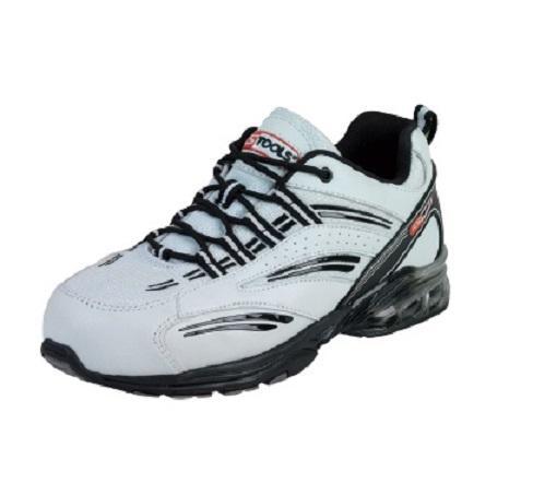 Chaussures de s curit homme blanche coussin d 39 air s1p - Chaussure de securite blanche ...