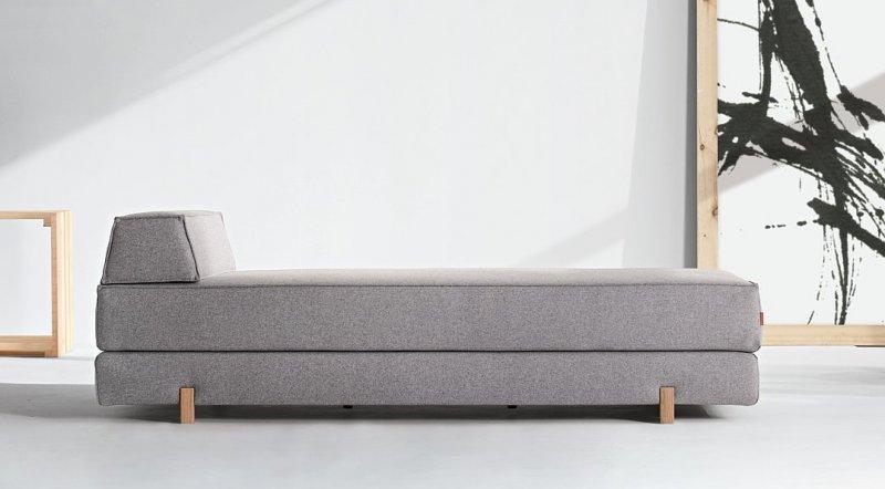 Canape idouble innovation living gris laine aspect for Canape alcantara gris