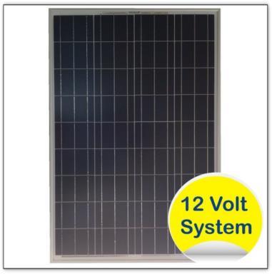 panneau solaire photovoltaique polycristallin 90w 12v. Black Bedroom Furniture Sets. Home Design Ideas