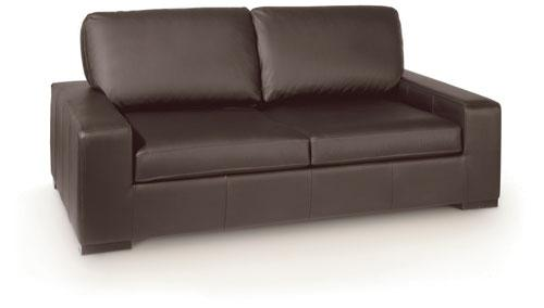 Canape lit 3 places convertible orion cuir couchage 140cm for Canape lit bultex