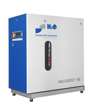Evaporateur d'effluent - vacudest® 20-60