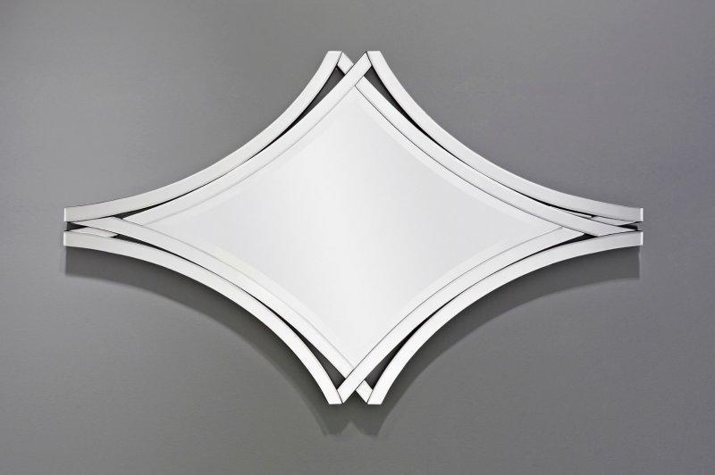 Twin miroir mural design blanc comparer les prix de twin for Miroir horizontal blanc