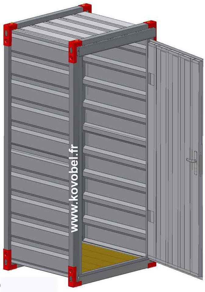 mini container de stockage. Black Bedroom Furniture Sets. Home Design Ideas