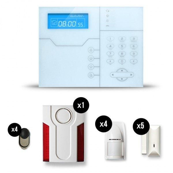 Alarme maison sans fil shb24 28 images sungle kit for Alarm maison sans fil