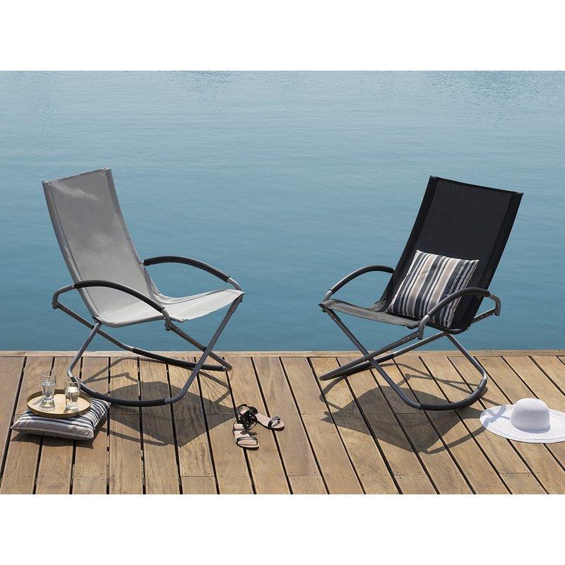 chaise et fauteuil d 39 ext rieur beliani achat vente de. Black Bedroom Furniture Sets. Home Design Ideas