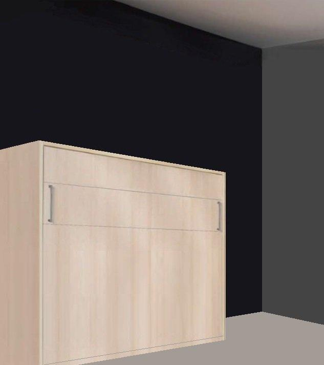 armoire lit escamotable transversale campus jacquelin. Black Bedroom Furniture Sets. Home Design Ideas