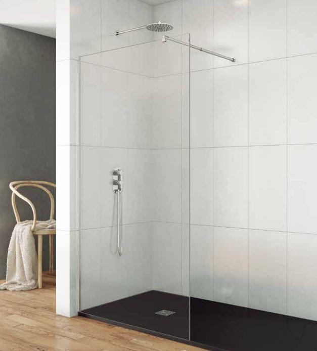 Ecrans et parois de douche comparez les prix pour professionnels sur hellop - Paroi fixe pour douche italienne ...