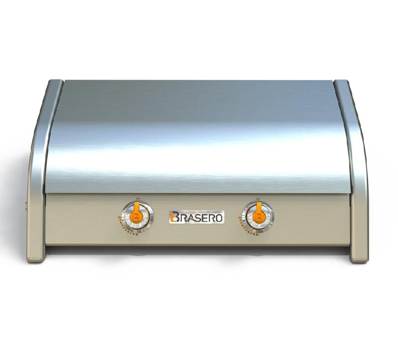Plaques de cuisson gaz comparez les prix pour for Plancha a gaz inox