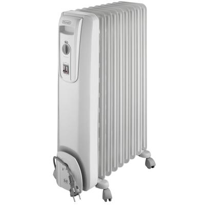 radiateur bain d 39 huile delonghi 2000w 3 allures de chauffe 4 roulettes. Black Bedroom Furniture Sets. Home Design Ideas