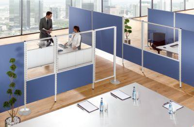panneau d 39 isolation acoustique verre acrylique h x l panneau 1500 x 800 mm anthracite. Black Bedroom Furniture Sets. Home Design Ideas