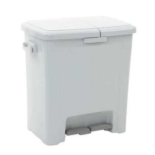 poubelle p dale double dustbin 45l comparer les prix de poubelle p dale double dustbin 45l. Black Bedroom Furniture Sets. Home Design Ideas