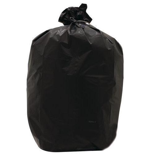 sac poubelle noir d chet lourd 60 130 l comparer les prix de sac poubelle noir d chet. Black Bedroom Furniture Sets. Home Design Ideas