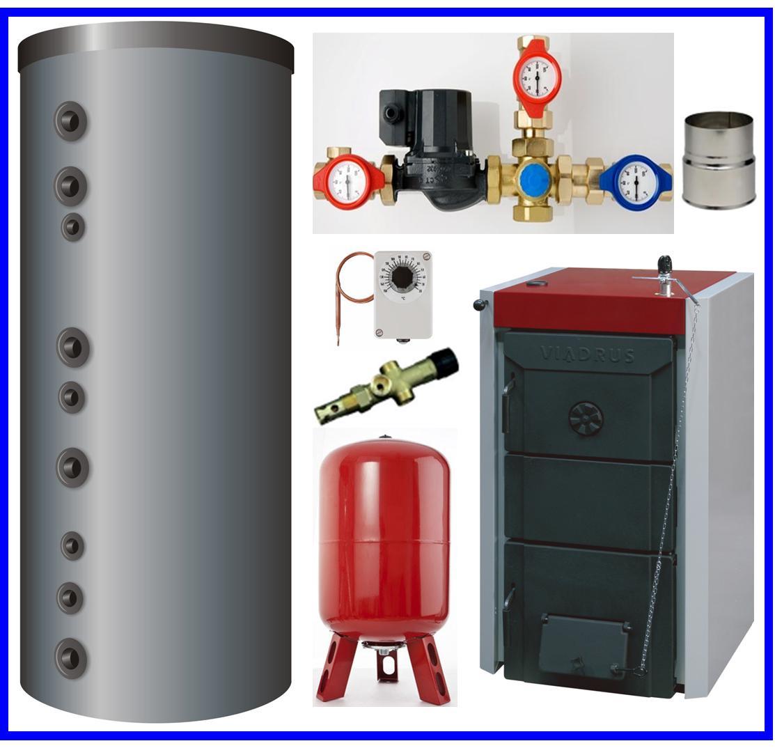 pack hydro accumulation avec chaudiere viadrus 33 kw. Black Bedroom Furniture Sets. Home Design Ideas