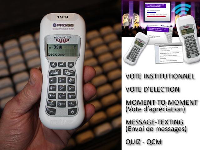 Proisis-vote : prestations de vote électronique interactif sécurisé