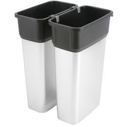 corps de poubelle finition m tal 80 litres. Black Bedroom Furniture Sets. Home Design Ideas