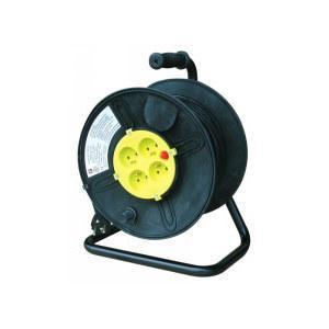 ENROULEUR ELECTRIQUE 25M PVC 3 X 1,5 MM2 - HO5