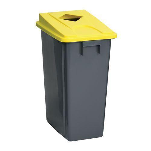 poubelles jaunes tri selectif achat vente poubelles jaunes tri selectif au meilleur prix. Black Bedroom Furniture Sets. Home Design Ideas