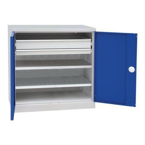 Armoire basse tablettes et tiroirs coulissants comparer les prix de armoire basse tablettes - Armoire tiroir coulissant ...