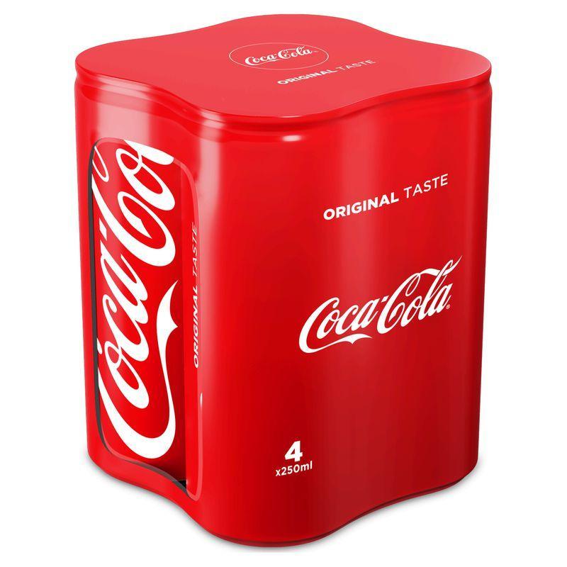 Coca-cola classic 4x25cl