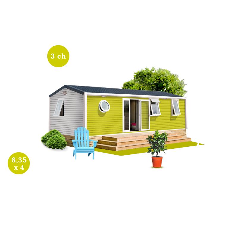 Bio habitat produits maisons mobiles for Mobil home 3 chambres