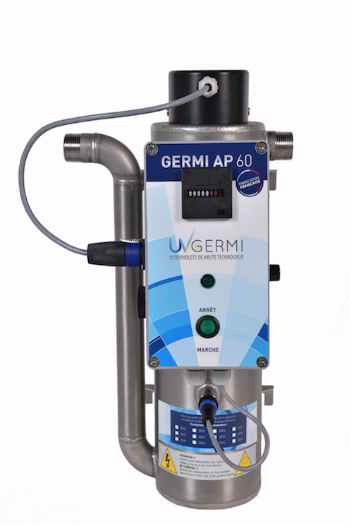 Uvgermi ap 60 traitement bactériologique de l'eau par ultraviolet