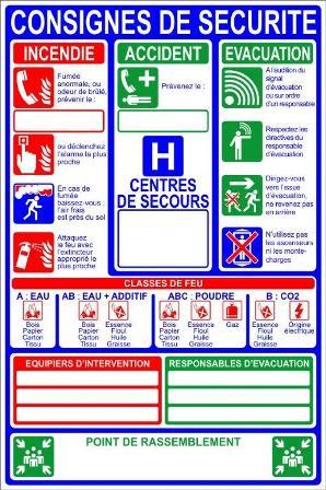 2af92df1807 Panneau consignes de sécurité - tous les fournisseurs - panneaux ...