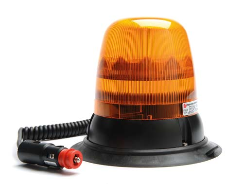 Feu orange  medium tall led magnetique  360°