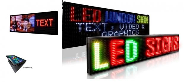 Pixelight - journal lumineux led