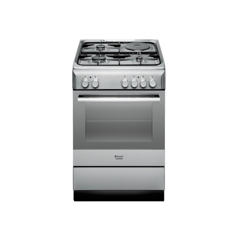 Hotpoint ariston - cuisiniere mixte gaz-electrique four catalyse ...