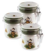 Lot de miel en pot de céramique 250 gr