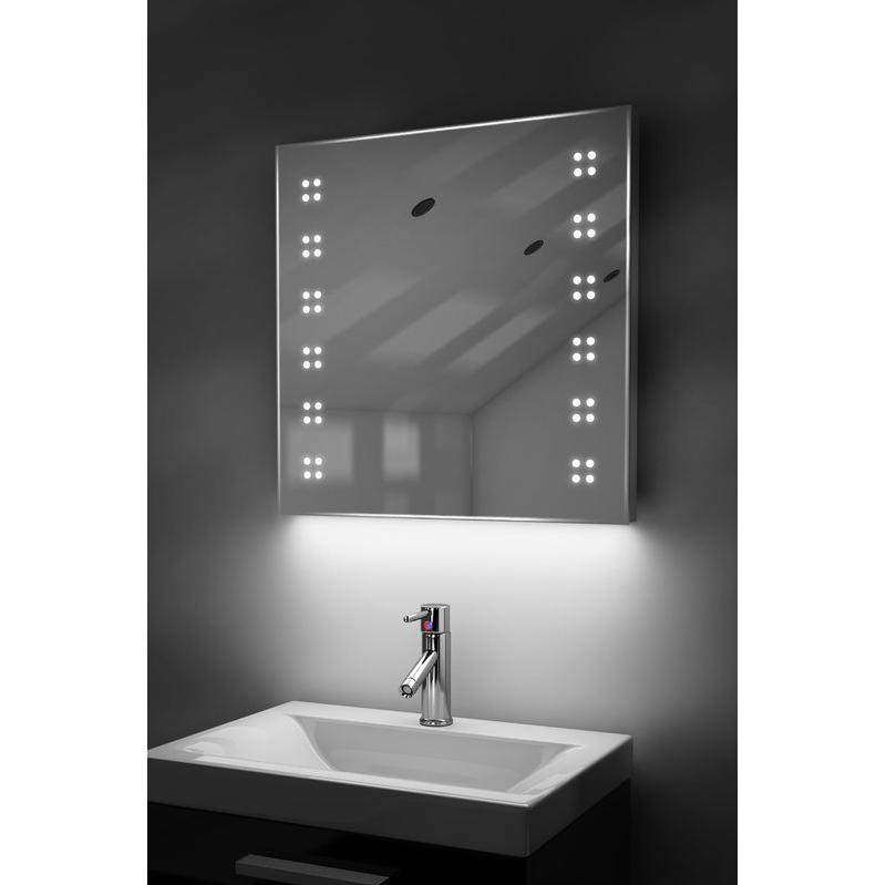 Miroirs de salle de bain diamond x collection achat for Lumiere led miroir