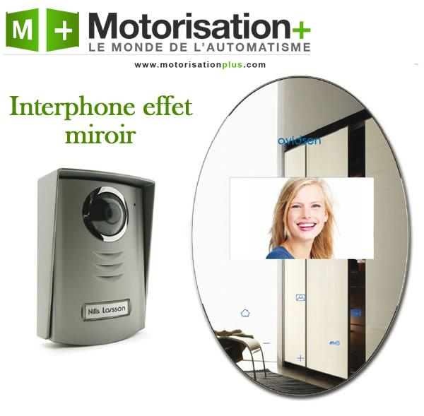 interphone vid o effet miroir avidsen 112268 comparer. Black Bedroom Furniture Sets. Home Design Ideas