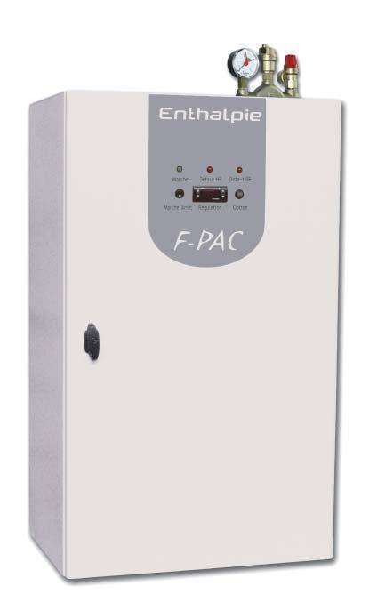 Pompe a chaleur fluide eau par capteur horizontal module f pac for Capteur de chaleur