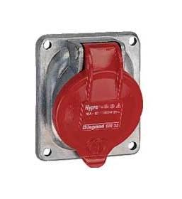 SOCLE TABLEAU HYPRA - IP44 - 16 A - 380/415 V~ - 3P+N+T - MÉTAL - LEGRAND