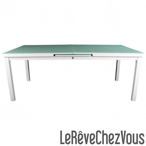 Table d 39 ext rieur en aluminium tous les fournisseurs de for Table exterieur avec rallonge