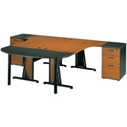 Bureaux plans compacts viking direct achat vente de for Meuble bureau gautier jazz