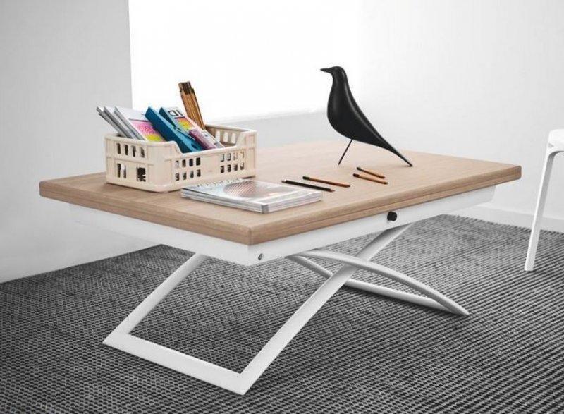 Table basse en bois tous les fournisseurs de table basse for Table bois et blanc