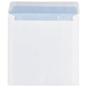 Enveloppe carr e offset m canisable blanc gomm e 90 g m for Fenetre 90x140